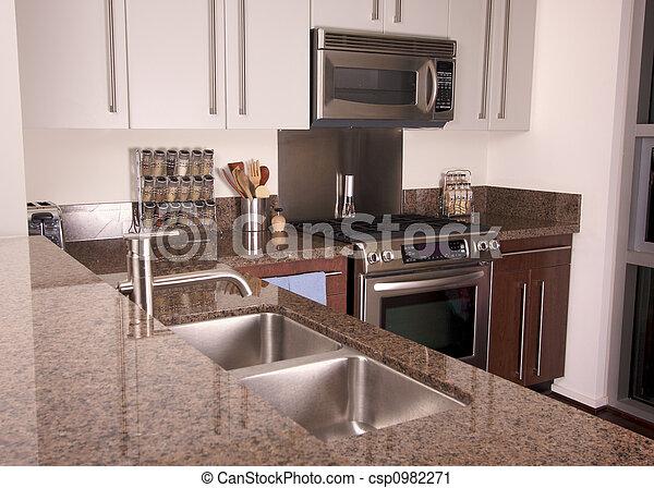 Photographies de appartement moderne cuisine moderne for Cuisine moderne appartement