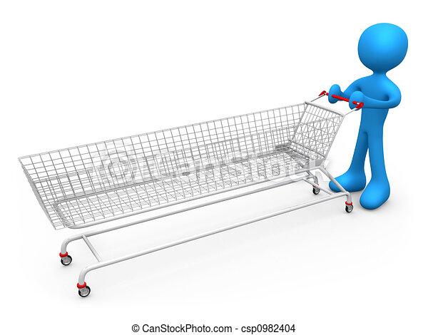 Extreme Shopping - csp0982404