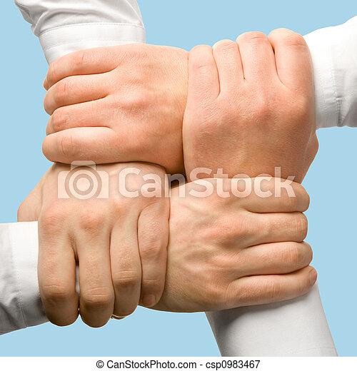 Apoyo, empresa / negocio - csp0983467