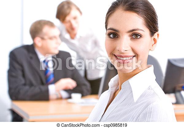 Face of employee  - csp0985819