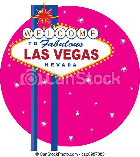 Vegas Sign - csp0987083