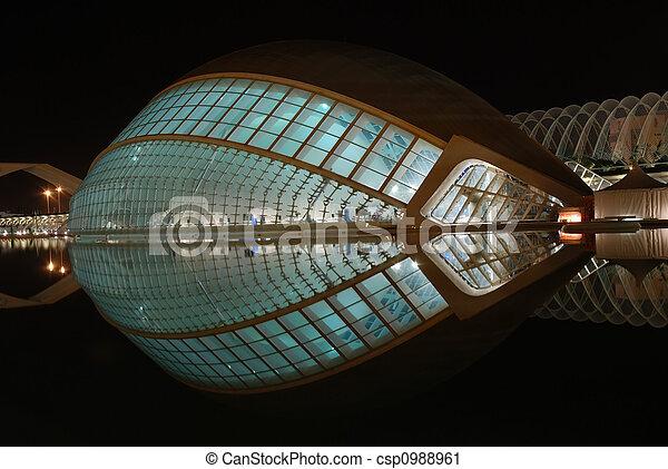Modern Architecture in Valencia, Spain - csp0988961