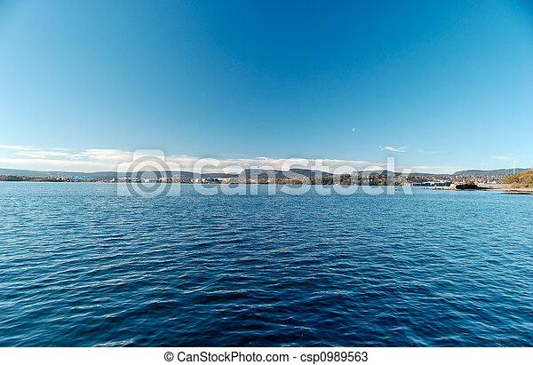 Oslo Fjord - csp0989563