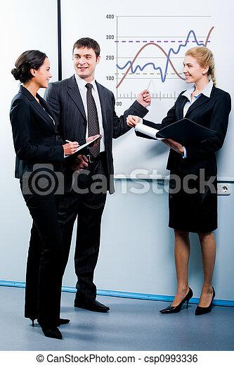 Business education - csp0993336