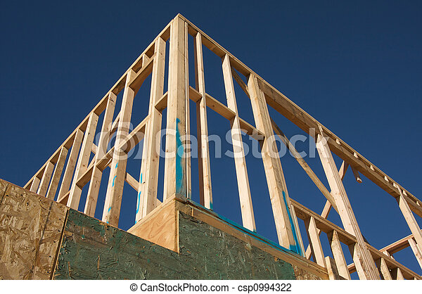 Construction Home Framing. - csp0994322