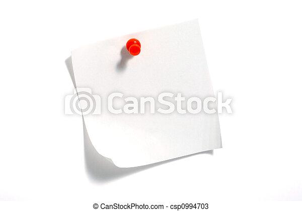 Note Paper - csp0994703
