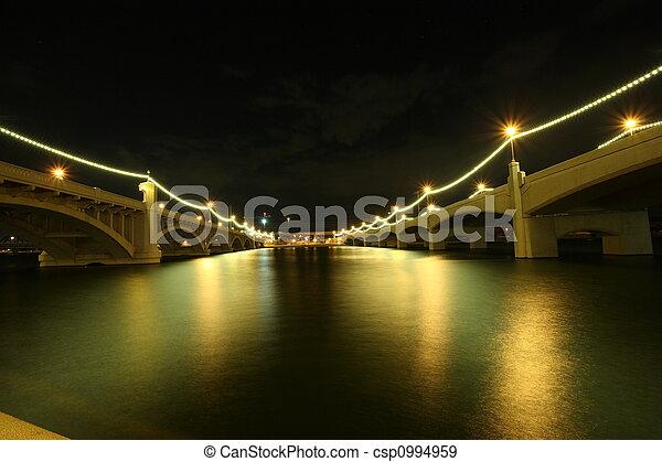 mill avenue bridges - csp0994959