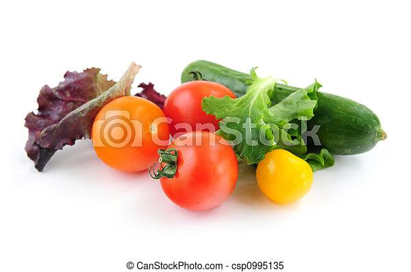frisk, grönsaken - csp0995135