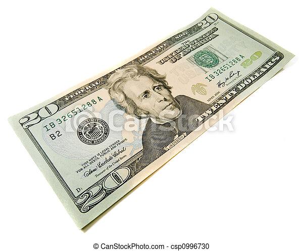 20 dollars bill - csp0996730