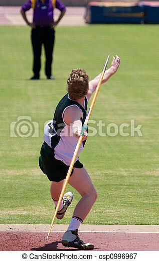 Javelin Thrower - csp0996967