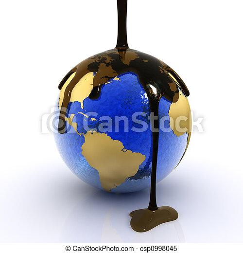 Endangered planet - csp0998045