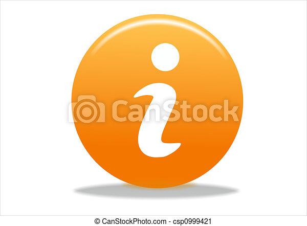 info symbol icon - csp0999421