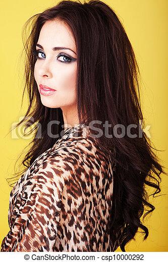 Seductive beautiful woman - csp10000292