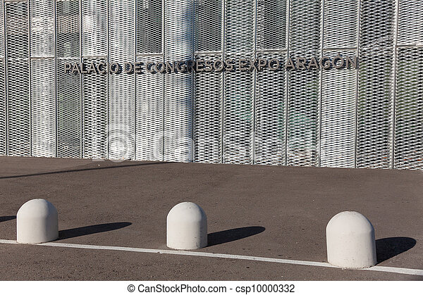 Congress palace, Expo Aragon, Zaragoza, Aragon, Spain - csp10000332