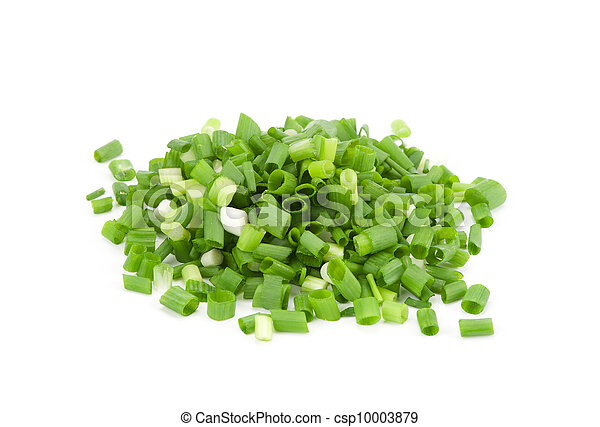 chopped fresh green onions - csp10003879