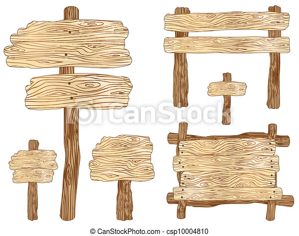Wooden Signs - csp10004810