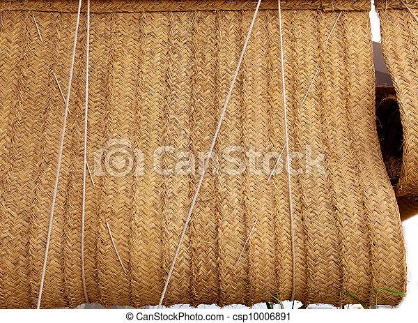 Stock de fotografos de esparto tejido c amo cortina - Cortinas de esparto ...