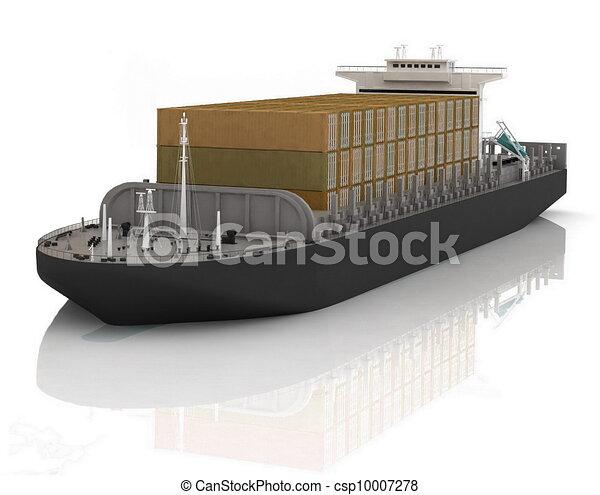 Cargo ship - csp10007278