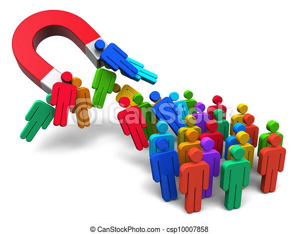 Social engineering concept - csp10007858