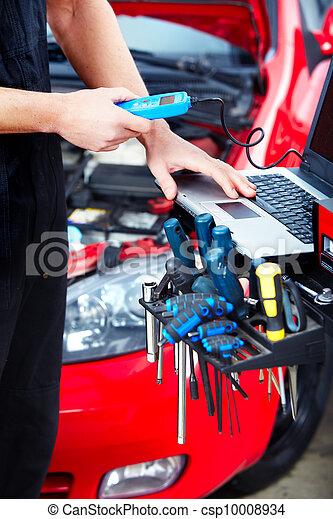 Auto service.