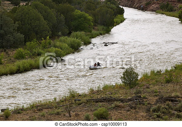 White Water Rafting - csp10009113