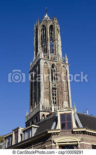 Dom Tower of Utrecht, Holland - csp10009291