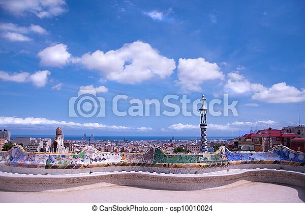 Barcelona view from Guell Park - csp10010024