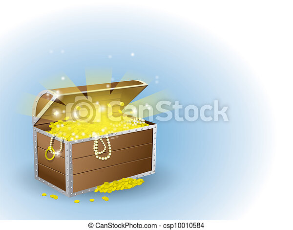 Treasure chest - csp10010584