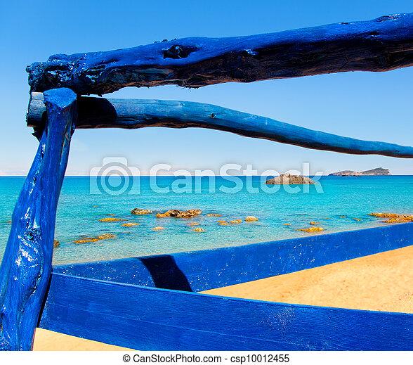 Aiguas Blanques Agua blanca Ibiza beach - csp10012455