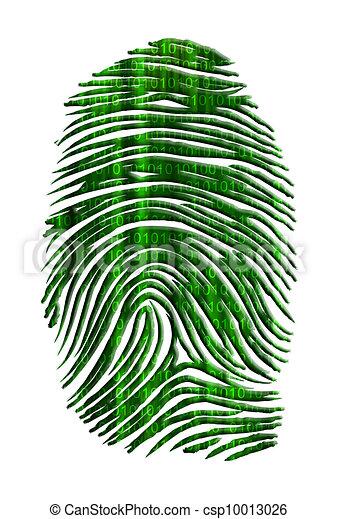 Matrix like finger print with streaming binary - csp10013026