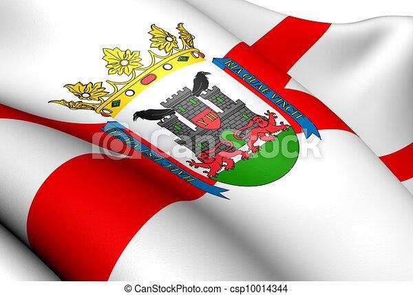 photo de drapeau vitoria gasteiz espagne fin haut csp10014344 recherchez des images des. Black Bedroom Furniture Sets. Home Design Ideas