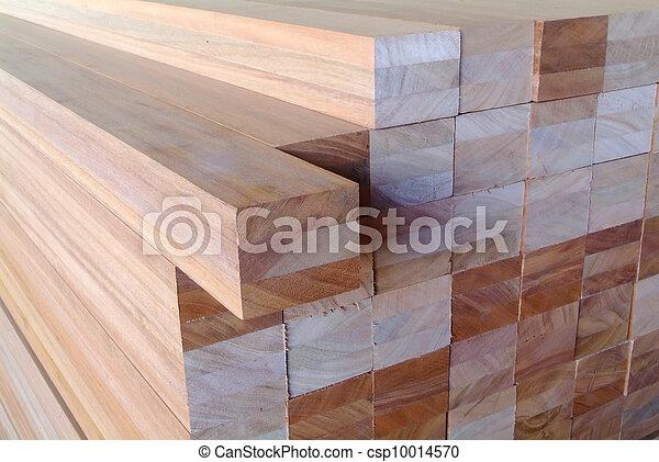 stack of lumber - csp10014570