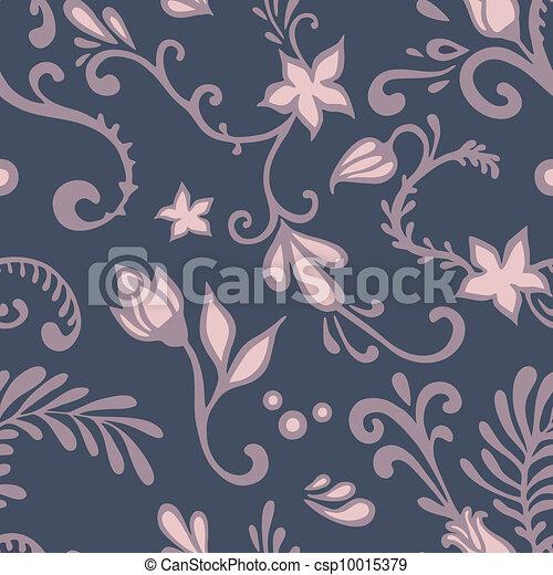 dark floral pattern - csp10015379