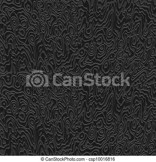 Vector abstract black texture - csp10016816