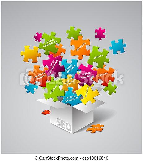 SEO Vector illustration - csp10016840