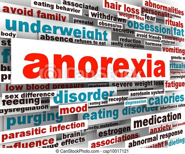 Anorexia disorder design - csp10017121