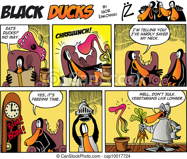 Black Ducks Comics episode 75 - csp10017724