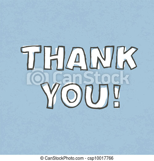 Thank you. Vector illustration, EPS 10 - csp10017766