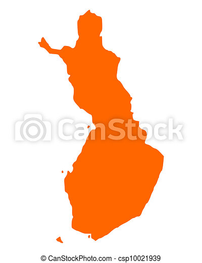 Map of Finland - csp10021939