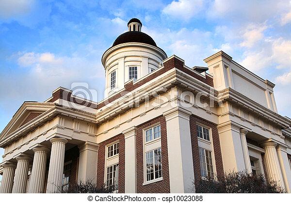 Historic Court house - csp10023088