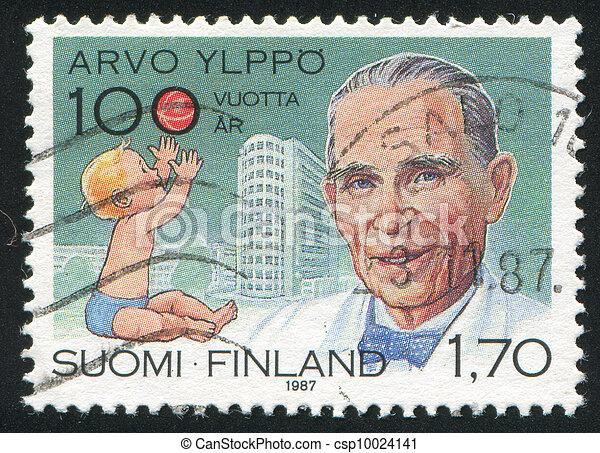 pediatrician Arvo Ylppo - csp10024141