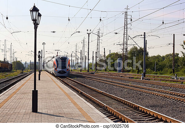 "High-speed train ""Donetsk-Kyiv"" - csp10025706"
