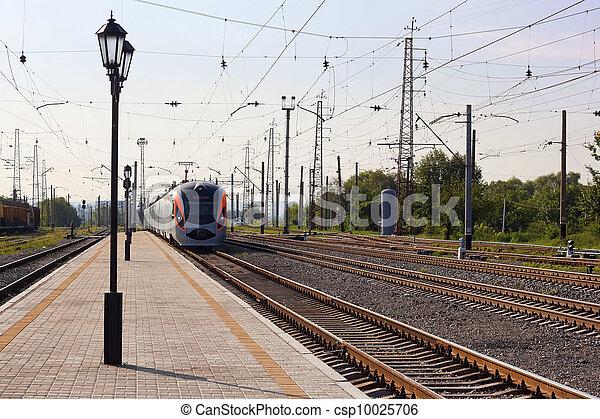 "High-speed train ""Donetsk-Kyiv"" - csp10025706"