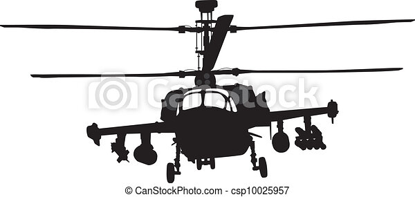 Helicopter silhouette - csp10025957