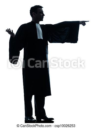 lawyer man pleading - csp10026253
