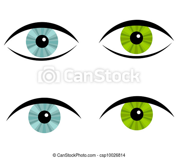 Green Eyes Clipart