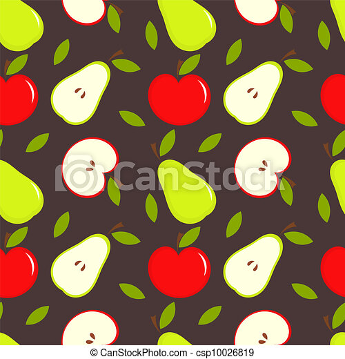 Apple and pear - csp10026819