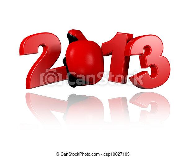 Boxing 2013 design - csp10027103