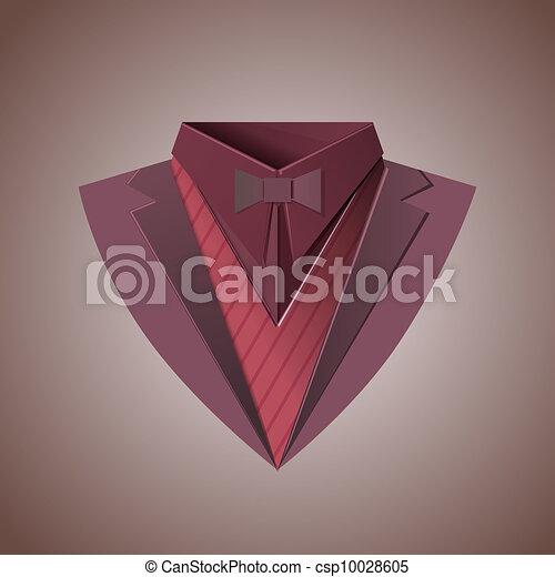 Rich clothes suit - csp10028605