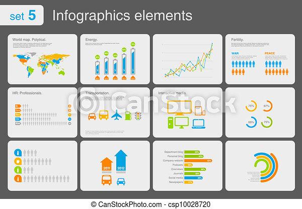 Infographics elements - csp10028720